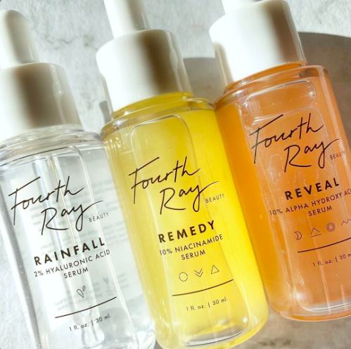 Fourth Ray Beauty Serums for brightening and hydrating the skin